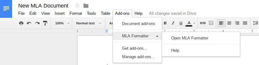 guide mla formatter